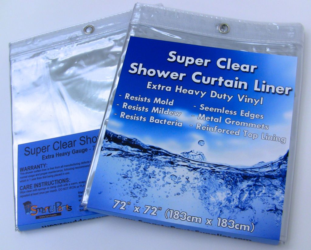 Clear Shower Curtain Liner Review - The Outspoken Yam
